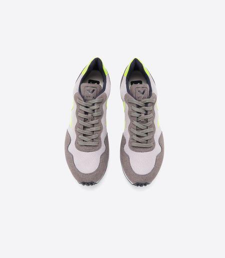 Veja SDU REC B-Mesh Sneakers - Silver Jaune/Fluo