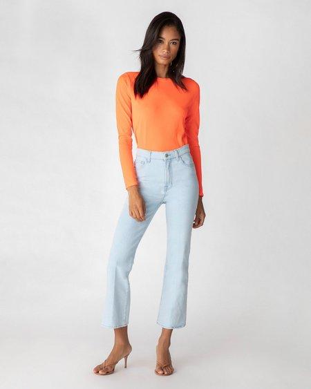 J Brand Julia High Rise Flare Jeans - Surf