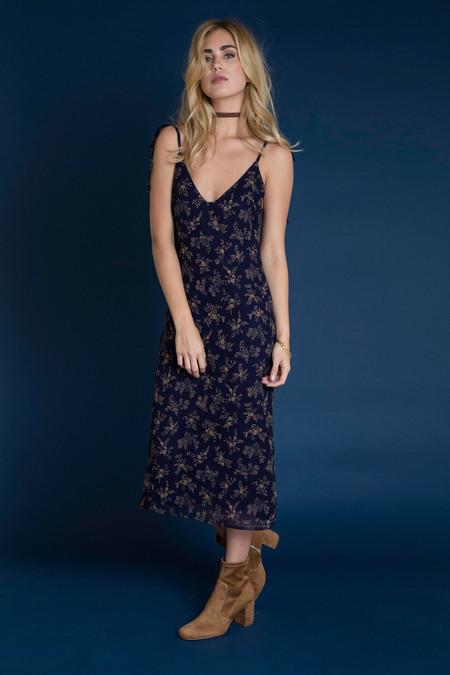 BETWEEN TEN Mia Dress - Navy Floral