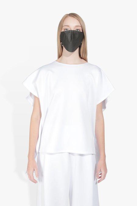 The Celect Foldover Top - White