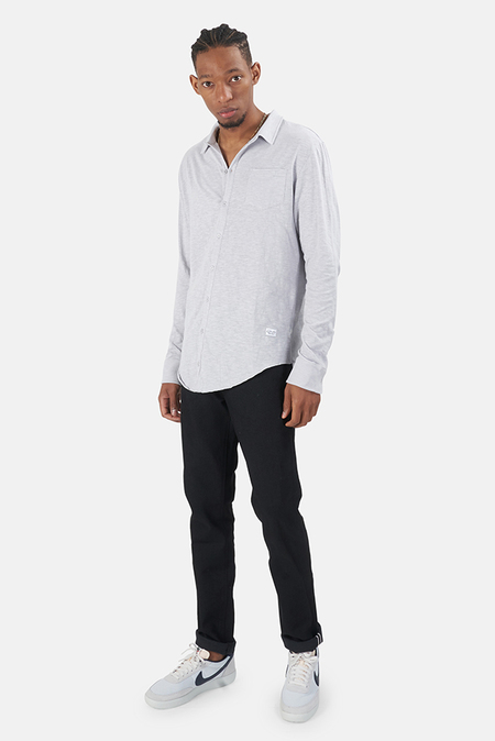 Kinetix x Blue&Cream Essential Knit Shirt - Light Grey