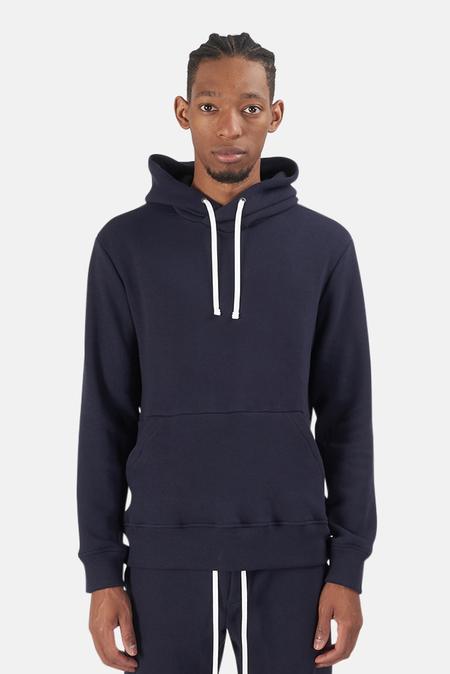 Wheelers.V Ludlow Hoodie Sweater - Navy