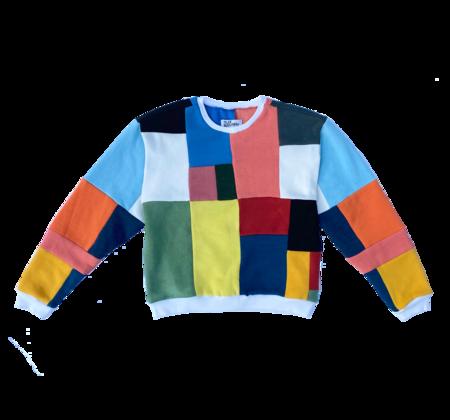 Tyler McGillivary Kai Sweatshirt - Rainbow Grid
