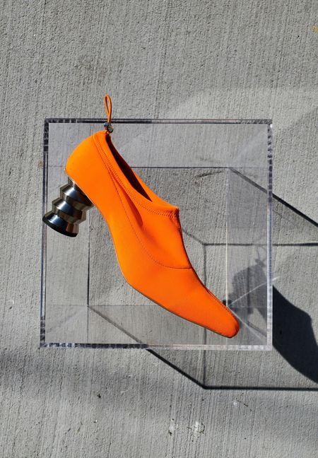 Nomia Gabi Pump - Fluoro Orange