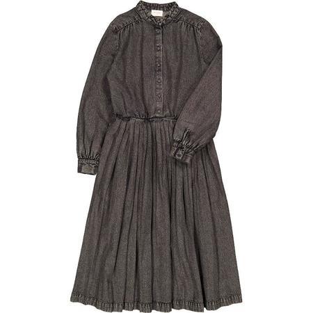 Louis Louise Marie Lou Dress - Washed Denim Grey