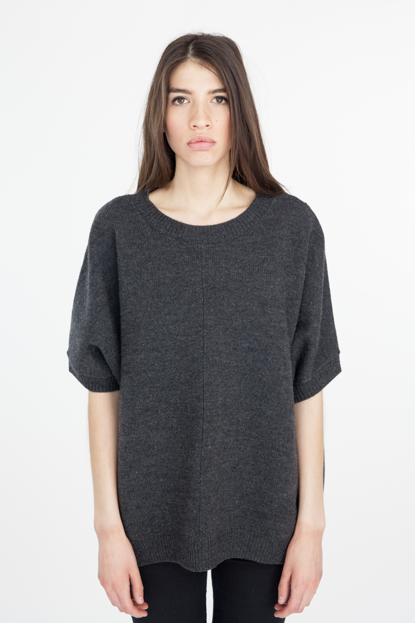 Emerson Fry Yoshi Sweater - Charcoal