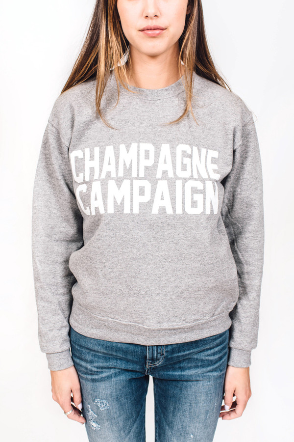 PRIVATE PARTY Champagne Campaign Sweatshirt