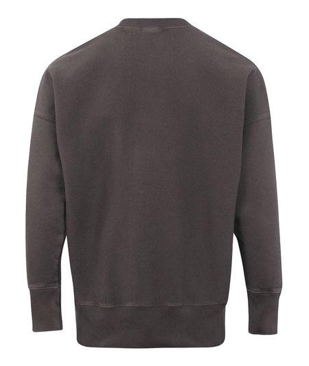 Champion Garment Dyed Oversized Crewneck Sweat - Charcoal