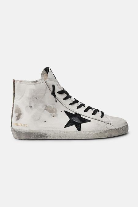 Golden Goose Francy Sneaker Shoes - White/Black
