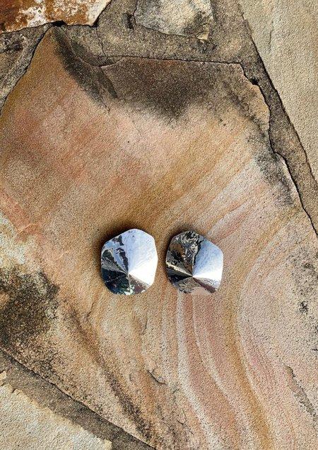 JULIE THÉVENOT ARAPED SMALL EARRINGS - Solid sterling silver