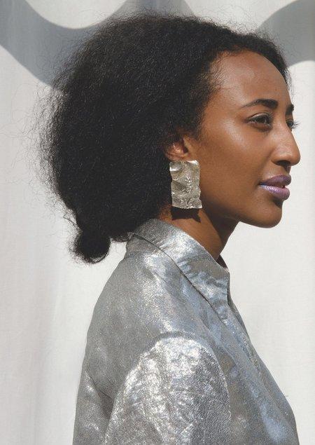 JULIE THÉVENOT CALANC SMALL EARRINGS - Sterling Silver