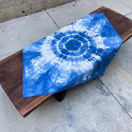 Made Solid Tie Dye Bandana - Indigo