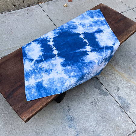 Made Solid XL Tie Dye Bandana - Indigo