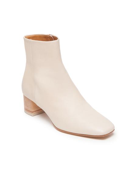 Coclico Gala Boot in Frida Ecru/Natural Heel