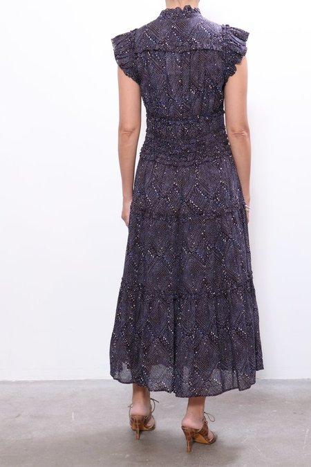 Ulla Johnson Rosalind Dress - Indigo Diamond