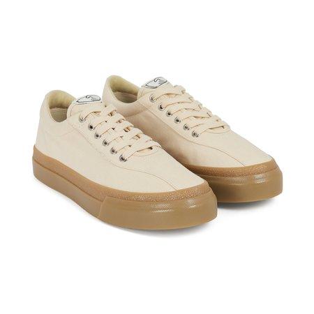 Stepney Workers Club Dellow Canvas Sneakers - Ecru/Gum