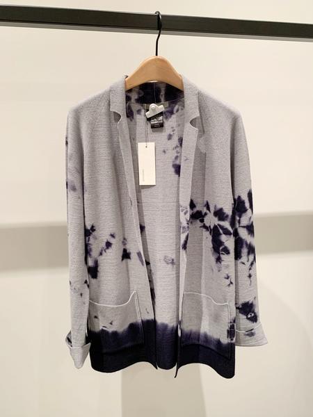 Suzusan Seamless Wool Cardigan Jacket