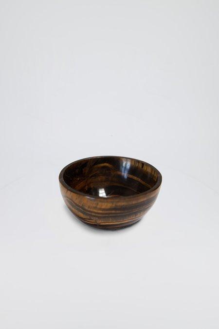 Fourth St Tiger Eye Bowl