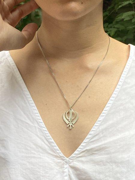 Asia Ingalls Ali Shakti Necklace - Silver