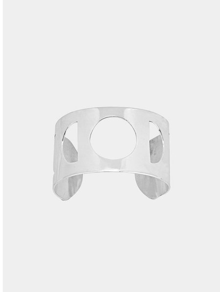 Asia Ingalls Moonphase Cuff - silver