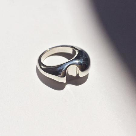 Leigh Miller Jewelry Bite Ring - Sterling Silver