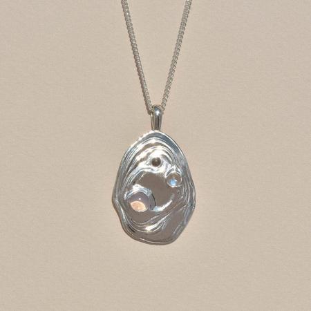 Leigh Miller Lava Pendant - Sterling Silver