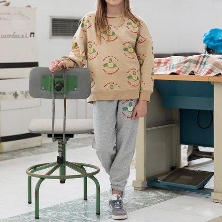 Kids Fresh Dinosaurs Sweatshirt - Happiness Print