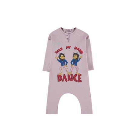 Kids Fresh Dinosaurs Lobo Dance Overall