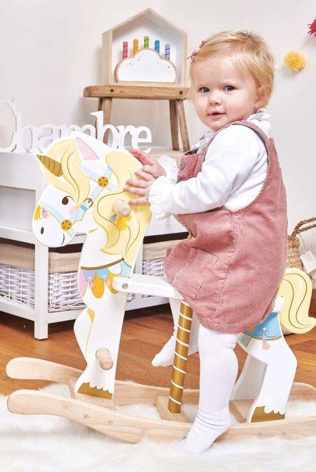 Kids Le Toy Van Rocking Unicorn Carousel