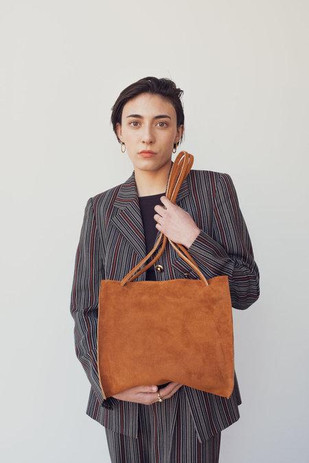 Hannah Emile Lady Bag - Toast Suede