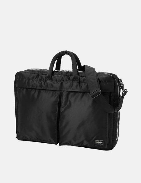 Porter Yoshida & Co Tanker Two Way Brief Case - Black