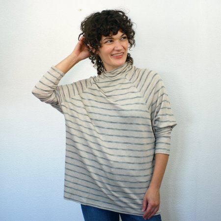 COKLUCH Orion Top - Grey Stripe