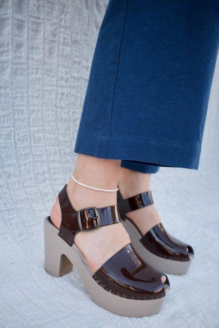 Machete Rice Pearl Anklet - White