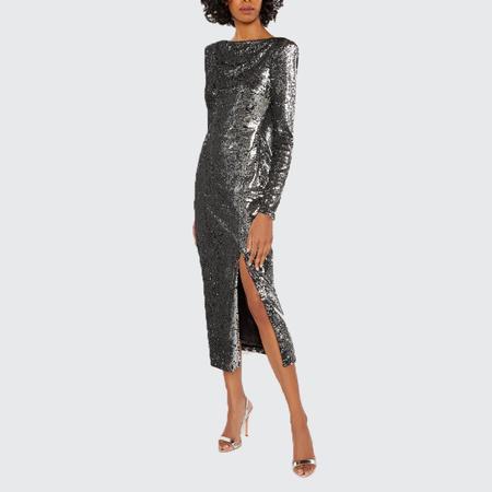 Cinq A Sept Julieann Dress - SILBLK