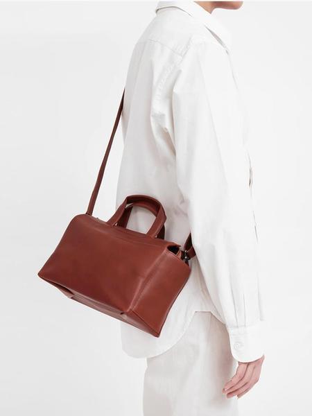 Isaac Reina Standard Mini Bag - Dark Honey