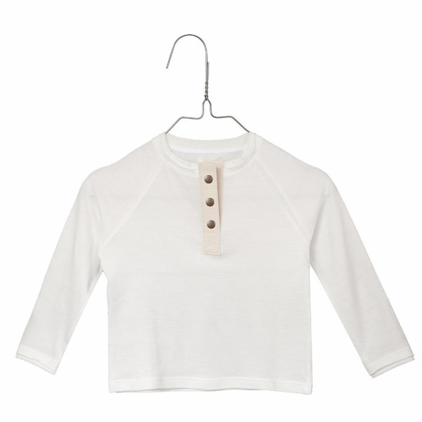 Little Creative Factory Baby Long Sleeve Top Off-White