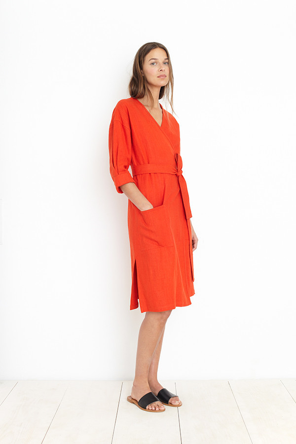 APIECE APART AMORGOS DRESS