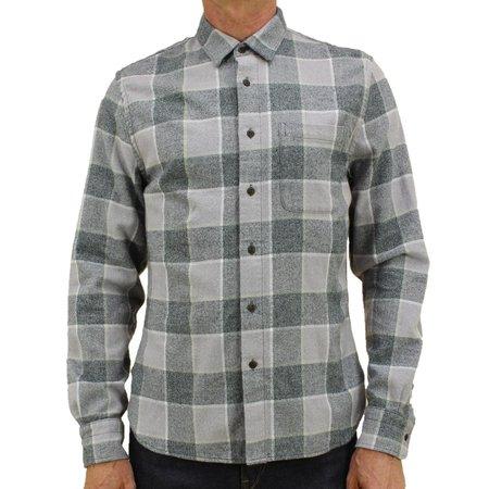 Kato The Ripper Vintage Plaid Shirt - Gray