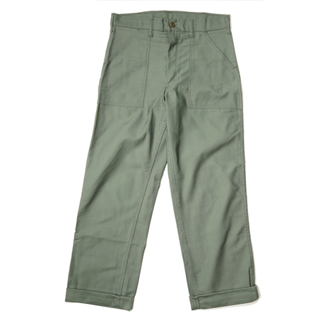 Stan Ray Loose 4 Pocket Fatigue Pant - OLIVE SATEEN