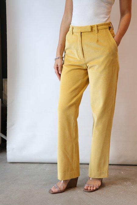 Maryam Nassir Zadeh Harp Trousers - Turmeric