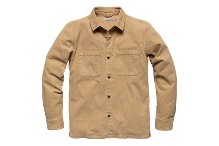 Outerknown Townes Corduroy Shirt - Sand