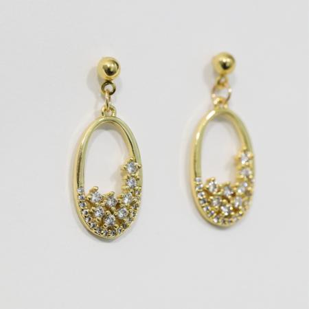 Montserrat New York Deià Earrings - 18K gold filled
