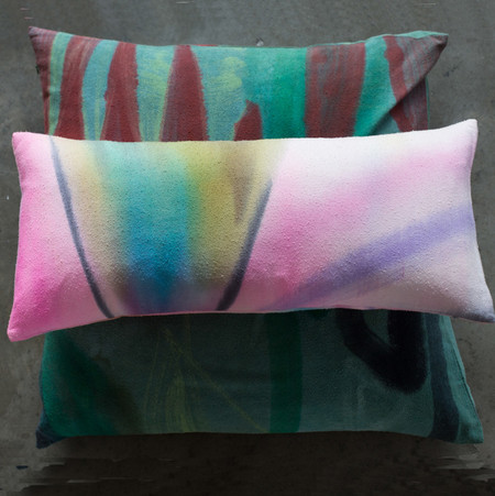 FORTMAKERS HANDPAINTED PILLOWS