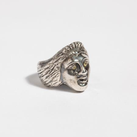 Saint Claude x Freda Ladyface Ring - Sterling/White Sapphire
