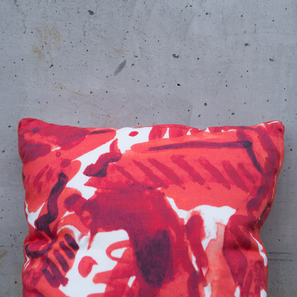 "Electra Eggleston HAVANA ROJA 22"" PILLOW"
