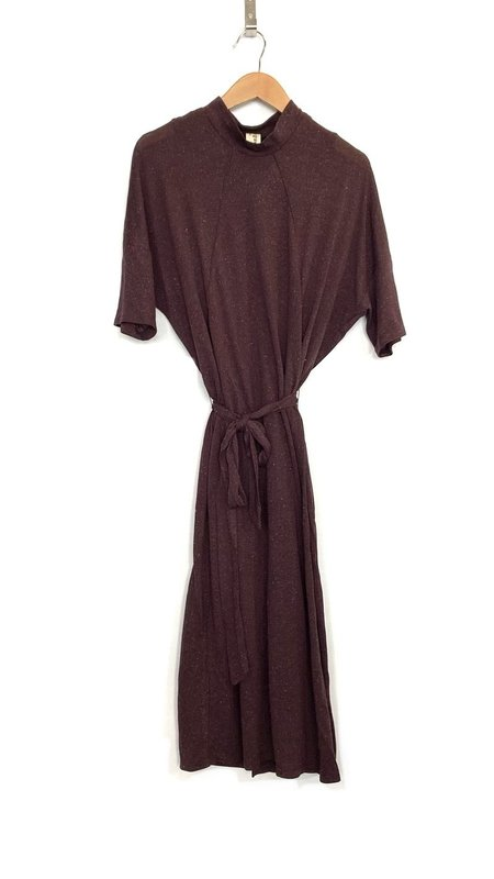 Eve Gravel Keoma Dress - Plum