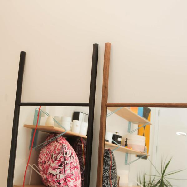 Lonewa Hex Floor Mirror