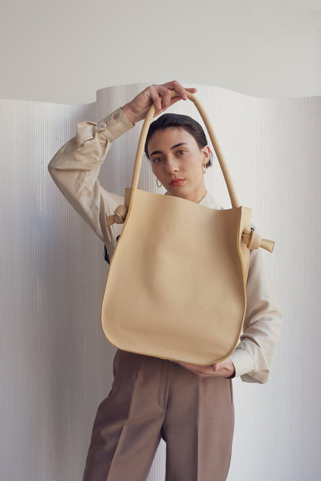 Hannah Emile Noeud Tote - Butter