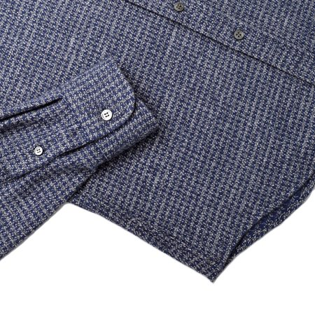 Outclass HOUNDSTOOTH FLANNEL - BLUE