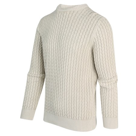 BLUE INDUSTRY KBIW20 M24 PULLOVER - STONE
